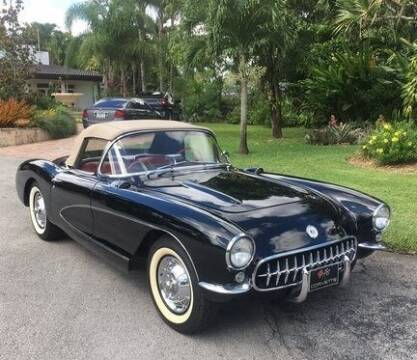 1956 Chevrolet Corvette for sale at SPECIALTY AUTO BROKERS, INC in Miami FL