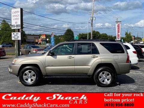 2005 Toyota 4Runner for sale at CADDY SHACK CARS in Edgewater MD