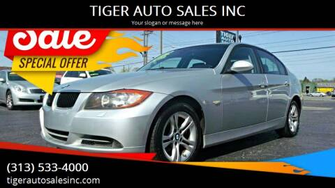 2008 BMW 3 Series for sale at TIGER AUTO SALES INC in Redford MI