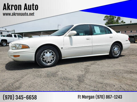 2002 Buick LeSabre for sale at Akron Auto in Akron CO