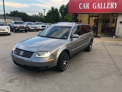 2003 Volkswagen Passat for sale at Car Gallery in Oklahoma City OK