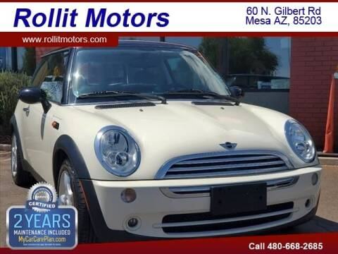 2005 MINI Cooper for sale at Rollit Motors in Mesa AZ