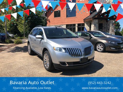 2014 Lincoln MKX for sale at Bavaria Auto Outlet in Victoria MN