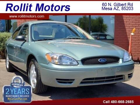 2007 Ford Taurus for sale at Rollit Motors in Mesa AZ