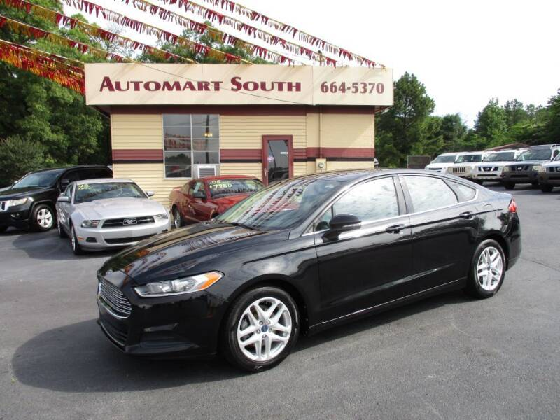 2013 Ford Fusion for sale at Automart South in Alabaster AL