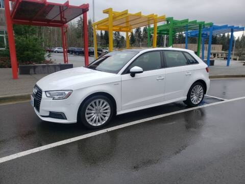 2017 Audi A3 Sportback e-tron for sale at Painlessautos.com in Bellevue WA