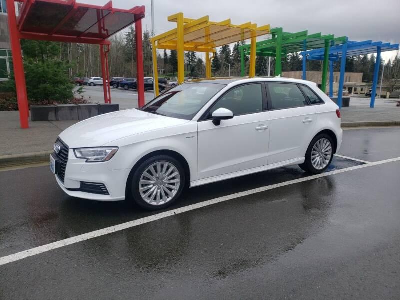 2017 Audi A3 Sportback e-tron for sale at Painlessautos.com in Bellevue WA