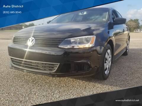 2013 Volkswagen Jetta for sale at Auto District in Baytown TX