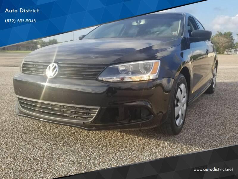 2013 Volkswagen Jetta for sale at Auto District in Baytown TX