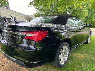 2013 Chrysler 200 Convertible for sale at English Autos in Grove City PA