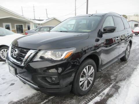 2018 Nissan Pathfinder for sale at Dam Auto Sales in Sioux City IA