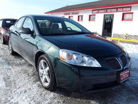 2007 Pontiac G6 for sale at Sarpy County Motors in Springfield NE