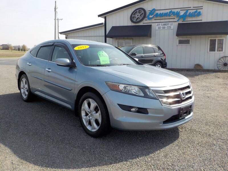 2011 Honda Accord Crosstour for sale at Country Auto in Huntsville OH