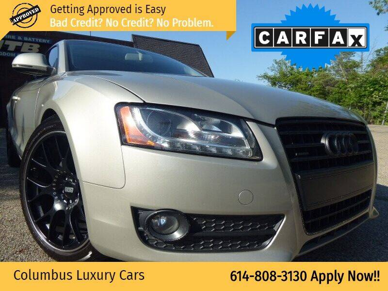 2008 Audi A5 for sale at Columbus Luxury Cars in Columbus OH