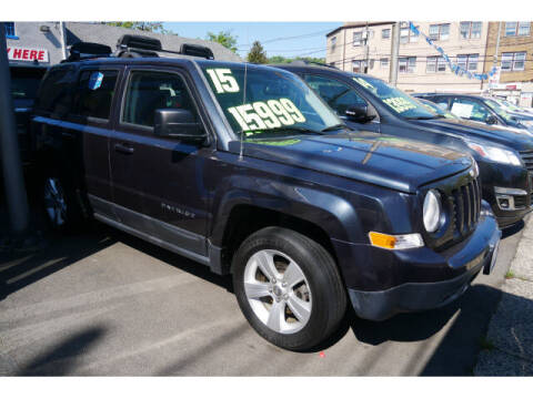 2015 Jeep Patriot for sale at M & R Auto Sales INC. in North Plainfield NJ