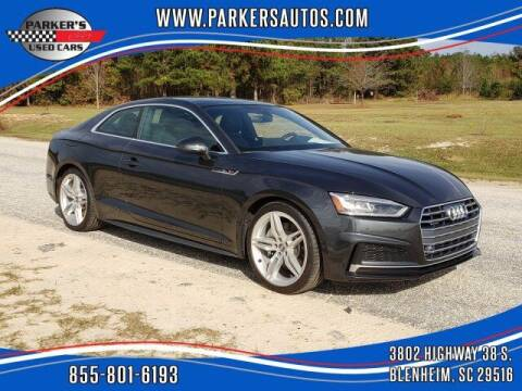 2018 Audi A5 for sale at Parker's Used Cars in Blenheim SC