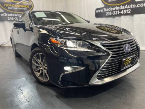 2017 Lexus ES 300h for sale at TRADEWINDS MOTOR CENTER LLC in Cleveland OH
