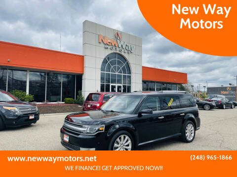 2019 Ford Flex for sale at New Way Motors in Ferndale MI