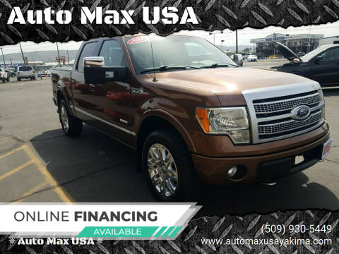 2012 Ford F-150 for sale at Auto Max USA in Yakima WA