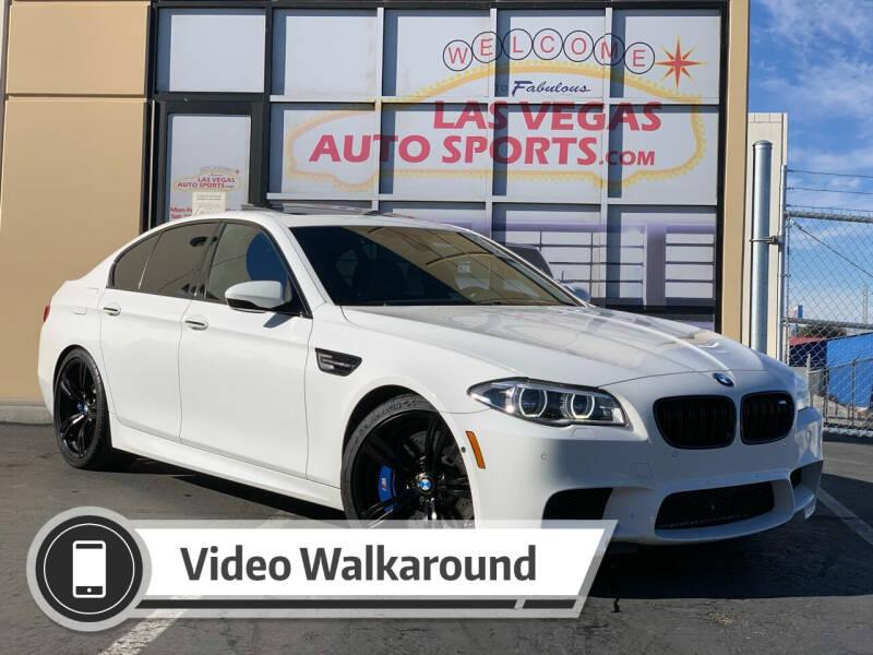 2016 BMW M5 for sale at Las Vegas Auto Sports in Las Vegas NV