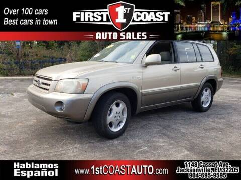 2004 Toyota Highlander for sale at 1st Coast Auto -Cassat Avenue in Jacksonville FL