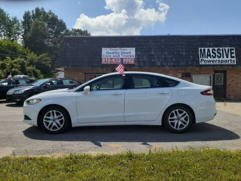 2016 Ford Fusion for sale at Kenny's Korner in Hartland MI