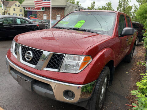2007 Nissan Frontier for sale at CAR CORNER RETAIL SALES in Manchester CT