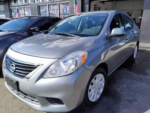 2012 Nissan Versa for sale at Celebrity Auto Sales in Port Saint Lucie FL