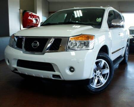 2012 Nissan Armada for sale at Motion Auto Sport in North Canton OH