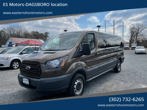 2016 Ford Transit Passenger for sale at ES Motors-DAGSBORO location in Dagsboro DE
