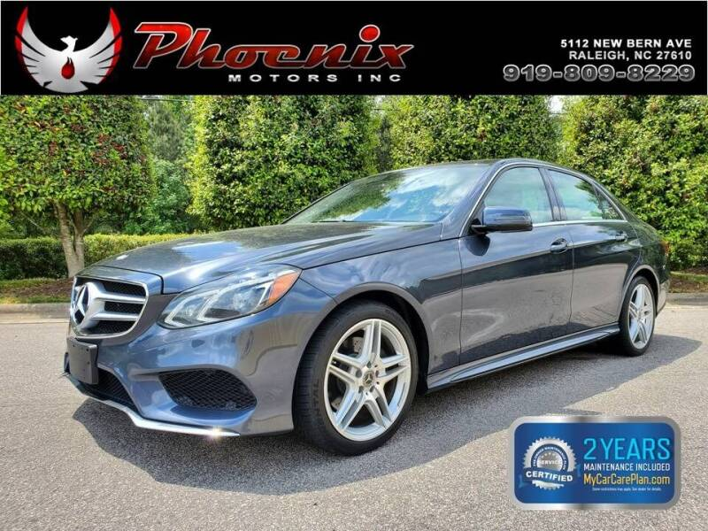 2014 Mercedes-Benz E-Class for sale at Phoenix Motors Inc in Raleigh NC