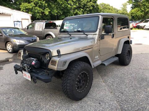2005 Jeep Wrangler for sale at Barga Motors in Tewksbury MA