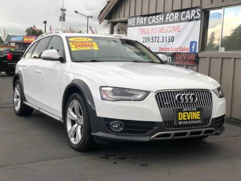 2013 Audi Allroad for sale at Devine Auto Sales in Modesto CA