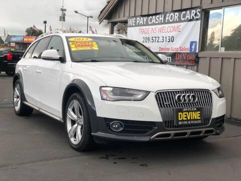 2013 Audi Allroad for sale at Devine Auto Sales in Modesto CA