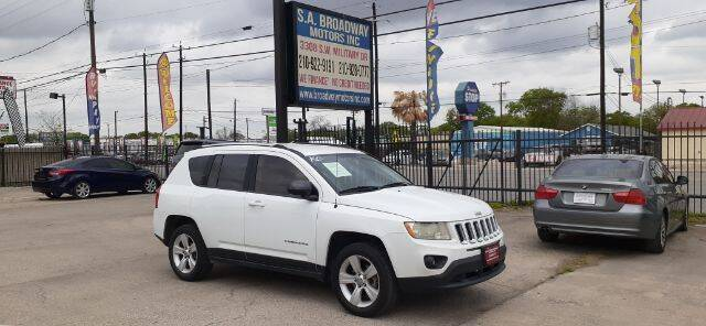 2012 Jeep Compass for sale at S.A. BROADWAY MOTORS INC in San Antonio TX