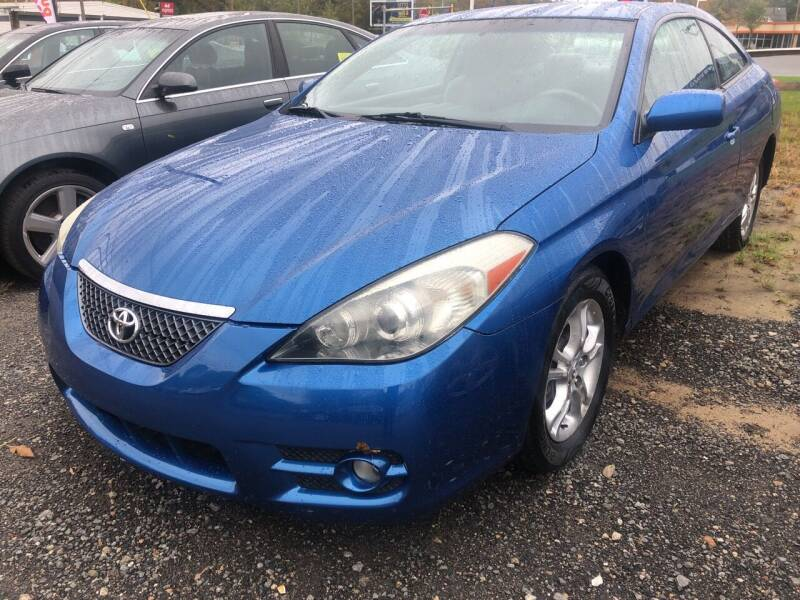 2007 Toyota Camry Solara for sale at AUTO OUTLET in Taunton MA