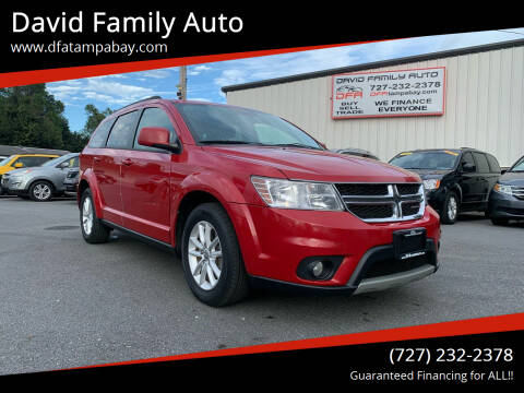 2014 Dodge Journey for sale at David Family Auto in New Port Richey FL