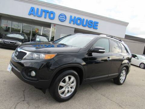 2012 Kia Sorento for sale at Auto House Motors in Downers Grove IL