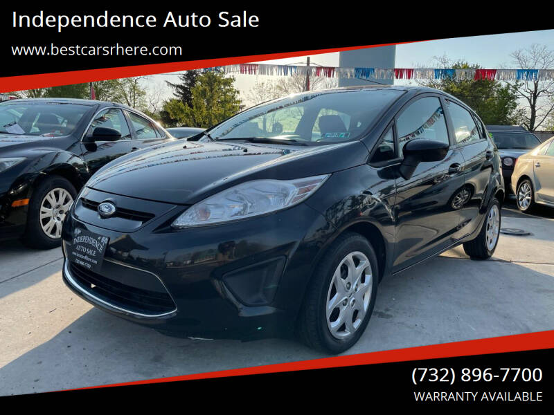2011 Ford Fiesta for sale at Independence Auto Sale in Bordentown NJ
