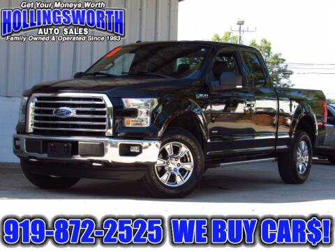 2016 Ford F-150 for sale at Hollingsworth Auto Sales in Raleigh NC