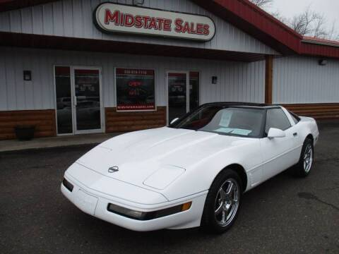 1995 Chevrolet Corvette for sale at Midstate Sales in Foley MN