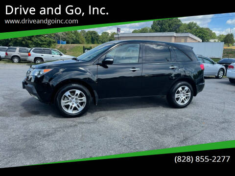 2008 Acura MDX for sale at Drive and Go, Inc. in Hickory NC