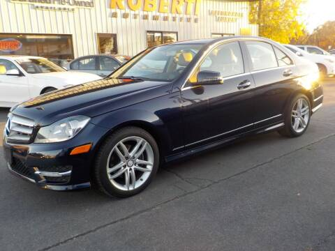 2012 Mercedes-Benz C-Class for sale at Roberti Automotive in Kingston NY
