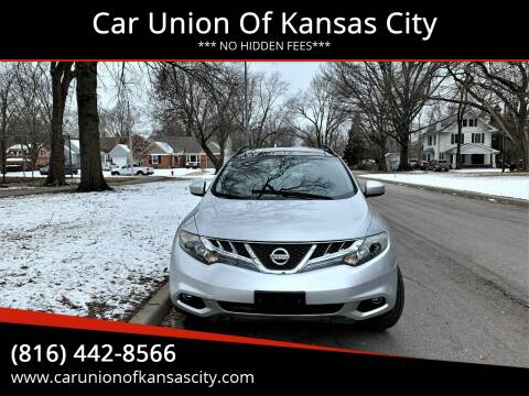 2011 Nissan Murano for sale at Car Union Of Kansas City in Kansas City MO