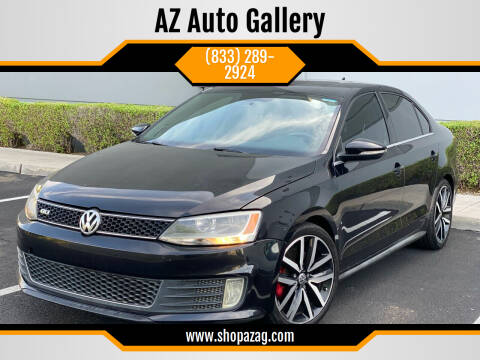 2012 Volkswagen Jetta for sale at AZ Auto Gallery in Mesa AZ