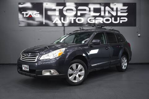 2011 Subaru Outback for sale at TOPLINE AUTO GROUP in Kent WA