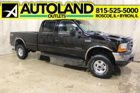 2001 Ford F-350 Super Duty for sale at AutoLand Outlets Inc in Roscoe IL