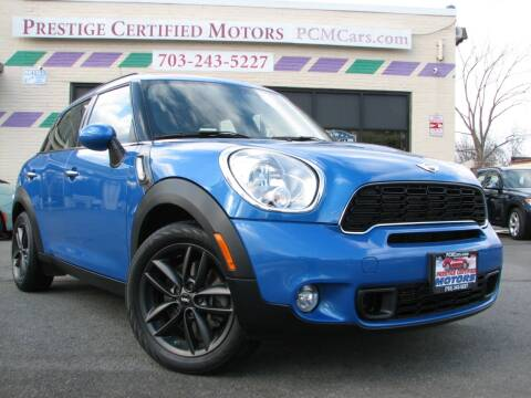2012 MINI Cooper Countryman for sale at Prestige Certified Motors in Falls Church VA