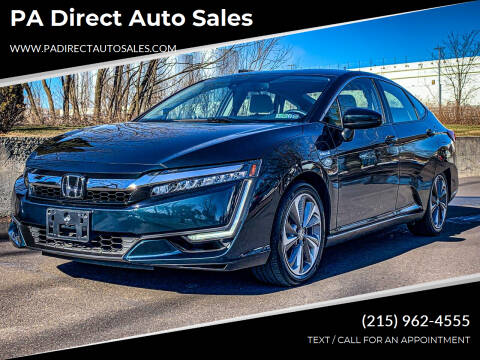 2018 Honda Clarity Plug-In Hybrid for sale at PA Direct Auto Sales in Levittown PA