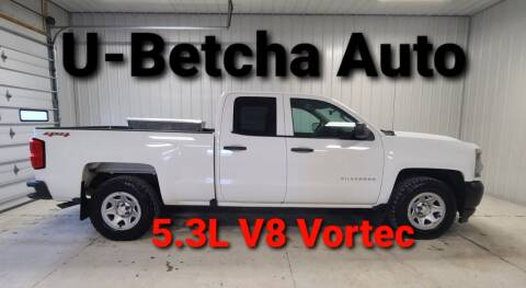 2016 Chevrolet Silverado 1500 for sale at Ubetcha Auto in Saint Paul NE